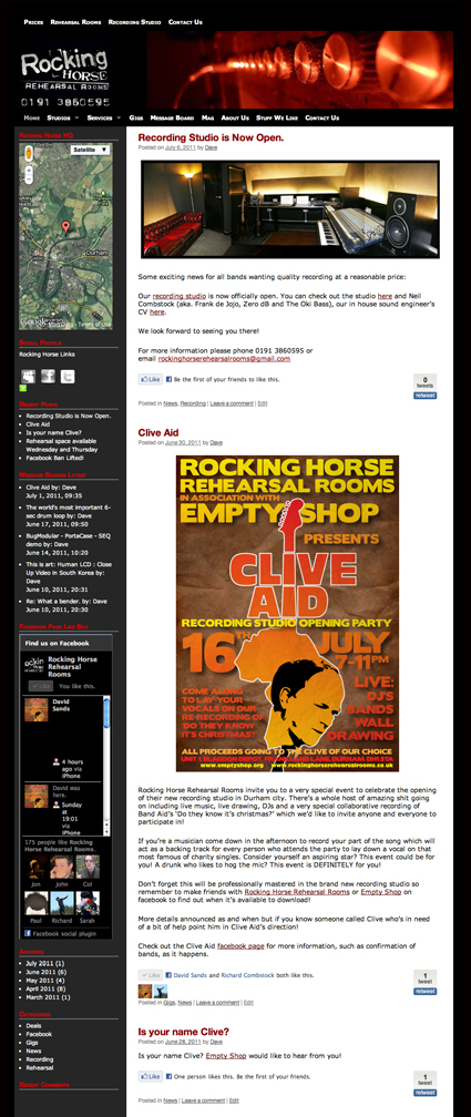 Rocking Horse Website